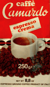 Caffè Camardo packet