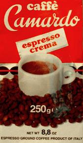 Caffè Camardo packet